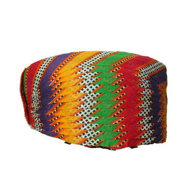 S H A H I T A J Traditional Rajasthani Cotton Mewadi Mothda Pagdi or Turban Multi-Colored for Kids and Adults (MT78)-ST156_18