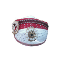 S H A H I T A J Traditional Rajasthani Cotton Mewadi Pagdi or Turban Multi-Colored for Kids and Adults (MT36)