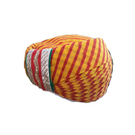 S H A H I T A J Traditional Rajasthani Cotton Mewadi Pagdi or Turban Multi-Colored for Kids and Adults (MT80)