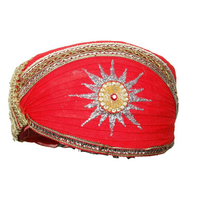S H A H I T A J Traditional Rajasthani Cotton Mewadi Pagdi or Turban Multi-Colored for Kids and Adults (MT25)-ST103_18