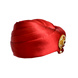 S H A H I T A J Designer Red Satin Kids and Adults Pagdi Safa or Turban for Fashion Shows & Events (DT575)-18-3-sm