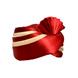 S H A H I T A J Traditional Rajasthani Wedding Red & Cream Satin Pagdi Safa or Turban for Kids and Adults (RT579)-18-3-sm