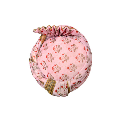 S H A H I T A J Traditional Rajasthani Wedding Multi-Colored Floral Pagdi Safa or Turban for Kids and Adults (RT583)-18-4