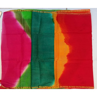 S H A H I T A J Traditional Rajasthani Red Barati/Groom/Social Occasions Faux Silk Pagdi Safa Turban or Pheta Cloth for Kids and Adults (CT591)