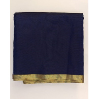 S H A H I T A J Traditional Rajasthani Blue Barati/Groom/Social Occasions Faux Silk Pagdi Safa Turban or Pheta Cloth for Kids and Adults (CT592)