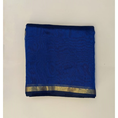 S H A H I T A J Traditional Rajasthani Blue Barati/Groom/Social Occasions Silk Pagdi Safa Turban or Pheta Cloth for Kids and Adults (CT594)-ST718