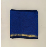 S H A H I T A J Traditional Rajasthani Blue Barati/Groom/Social Occasions Silk Pagdi Safa Turban or Pheta Cloth for Kids and Adults (CT594)