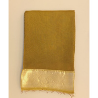 S H A H I T A J Traditional Rajasthani Beige Barati/Groom/Social Occasions Cotton Mewadi Pagdi or Turban Cloth for Kids and Adults (MT596)