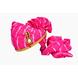 S H A H I T A J Traditional Rajasthani Jodhpuri Cotton Pink Lehariya Wedding Groom or Dulha Pagdi Safa or Turban for Kids and Adults (RT616)-ST740_22andHalf-sm