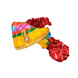 S H A H I T A J Traditional Rajasthani Jodhpuri Cotton Multi-Colored Lehariya Wedding Groom or Dulha Pagdi Safa or Turban for Kids and Adults (RT623)-ST747_22andHalf-sm