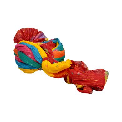 S H A H I T A J Traditional Rajasthani Jodhpuri Cotton Multi-Colored Wedding Groom or Dulha Pagdi Safa or Turban for Kids and Adults (RT627)-18-4