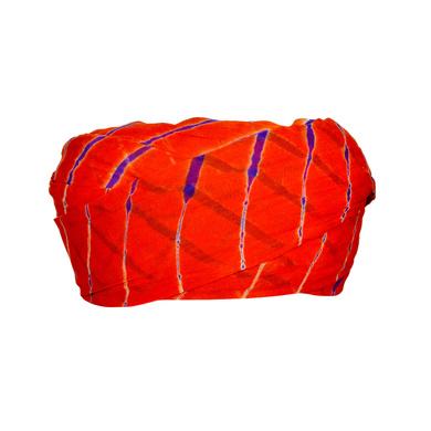 S H A H I T A J Traditional Rajasthani Cotton Red Lehariya Jodhpuri Gol Pheta Pagdi Safa or Turban for Kids and Adults (RT523)-ST643_18