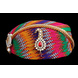 S H A H I T A J Traditional Rajasthani Cotton Mewadi Multi-Colored Mothda Pagdi or Turban with Pachewadi Brooch and Chandrma for Kids and Adults (MT290)-ST386_18-sm