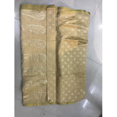 S H A H I T A J Traditional Rajasthani Golden Foil Barati/Groom/Social Occasions Silk Pagdi Safa Turban or Pheta Cloth for Kids and Adults (CT684)-Free Size-2