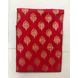 S H A H I T A J Traditional Rajasthani Red with Golden Foil Barati/Groom/Social Occasions Cotton Pagdi Safa Turban or Pheta Cloth for Kids and Adults (CT685)-Free Size-1-sm