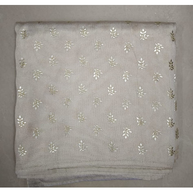 S H A H I T A J Traditional Rajasthani White Barati/Groom/Social Occasions Silk Printed Pagdi Safa Turban or Pheta Cloth for Kids and Adults (CT676)-ST796