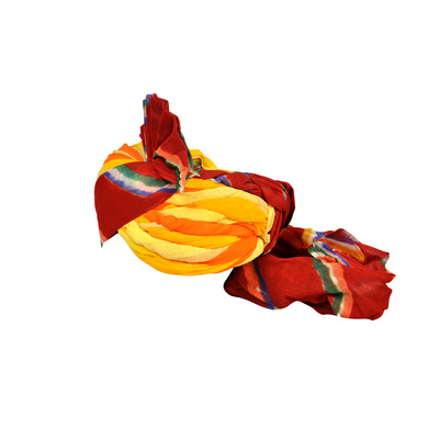 S H A H I T A J Traditional Rajasthani Jodhpuri Cotton Farewell/Retirement/Social Occasions Multi-Colored Pagdi Safa or Turban for Kids and Adults (CT721)-18-3