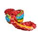 S H A H I T A J Traditional Rajasthani Jodhpuri Cotton Farewell/Retirement/Social Occasions Multi-Colored Lehariya Pagdi Safa or Turban for Kids and Adults (CT722)-18-4-sm