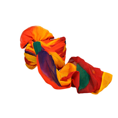 S H A H I T A J Traditional Rajasthani Jodhpuri Cotton Farewell/Retirement/Social Occasions Multi-Colored Pagdi Safa or Turban for Kids and Adults (CT723)-18-4