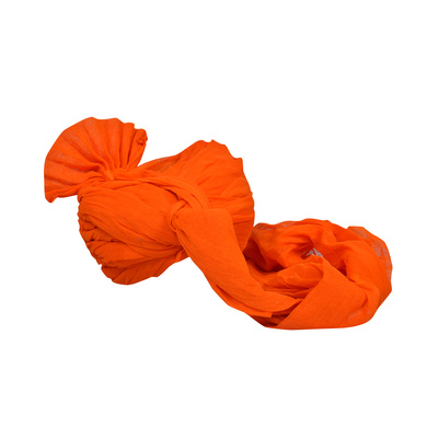 S H A H I T A J Traditional Rajasthani Jodhpuri Cotton Farewell/Retirement/Social Occasions Orange Pagdi Safa or Turban for Kids and Adults (CT728)-18-4