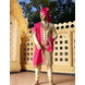 S H A H I T A J Traditional Rajasthani Wedding Pink Silk Jodhpuri Rajputi Pagdi Safa or Turban for Groom or Dulha (CT240)-ST320_21-sm
