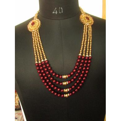 S H A H I T A J  Designer Mala/Kanthla for Weddings/Groom Dress or Sherwani (OS739)-ST859