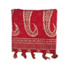 S H A H I T A J Traditional Rajasthani Red with Golden Foil Barati/Groom/Social Occasions Silk Pagdi Safa Turban or Pheta Cloth for Kids and Adults (CT747)-ST867-sm