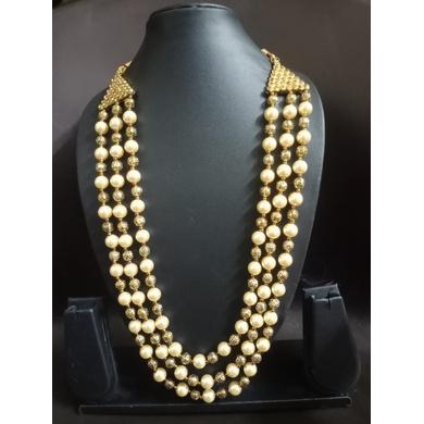 S H A H I T A J  Designer Mala/Kanthla for Weddings/Groom Dress or Sherwani (OS751)-ST871