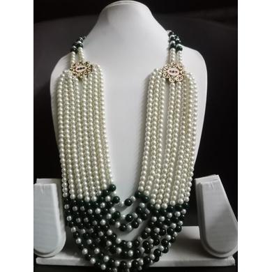 S H A H I T A J  Designer Mala/Kanthla for Weddings/Groom Dress or Sherwani (OS752)-ST872