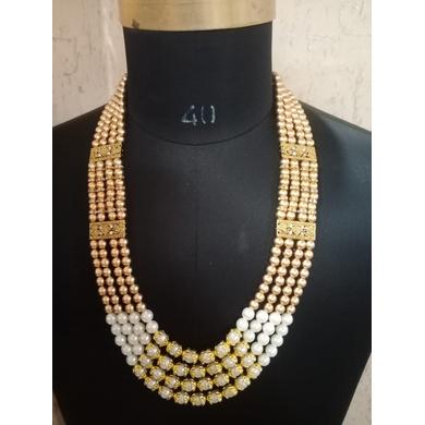S H A H I T A J  Designer Mala/Kanthla for Weddings/Groom Dress or Sherwani (OS756)-ST876