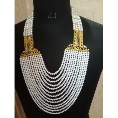 S H A H I T A J  Designer Mala/Kanthla for Weddings/Groom Dress or Sherwani (OS758)-ST878