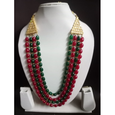 S H A H I T A J  Designer Mala/Kanthla for Weddings/Groom Dress or Sherwani (OS759)-ST879