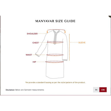 S H A H I T A J Traditional Blue Barati/Groom/Social Occasions Cotton Modi Kurta Pajama for Adults (MW762)-36-2