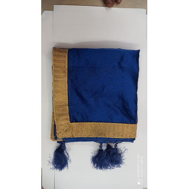 S H A H I T A J Traditional Rajasthani Wedding Golden Silk Stall/Dupatta/Shawl for Groom or Dulha (DS551)-Free Size-1
