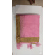 S H A H I T A J Traditional Rajasthani Wedding Baby Pink Silk Stole/Dupatta/Shawl for Groom or Dulha (DS797)-Free Size-1-sm