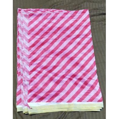 S H A H I T A J Traditional Rajasthani Pink Lehariya Barati/Groom/Social Occasions Sabhyasachi Silk Pagdi Safa Turban or Pheta Cloth for Kids and Adults (CT683)-ST803