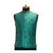 S H A H I T A J Traditional Barati/Groom/Social Occasions Silk Light Green Nehru Jacket or Kothi for Adults (MW802)-ST922_36-sm