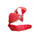 S H A H I T A J Traditional Rajasthani Red Bandhej Cotton Mahakal Bhagwan Pagdi Safa or Turban for God's Idol/Kids/Adults (RT632)-For Miniature God's Idol (3 inches to 16 inches)-3-sm