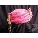 S H A H I T A J Traditional Rajasthani Pink Silk Bhagwan ki Pagdi Safa or Turban for God's Idol/Kids/Adults (RT310)-For Miniature God's Idol (3 inches to 16 inches)-4-sm