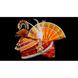 S H A H I T A J Traditional Rajasthani Multi-Colored Silk Bhagwan ki Pagdi Safa or Turban for God's Idol/Kids/Adults (RT280)-ST366_Kids-sm