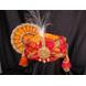 S H A H I T A J Traditional Rajasthani Multi-Colored Silk Bhagwan ki Pagdi Safa or Turban for God's Idol/Kids/Adults (RT315)-ST471_Mini-sm