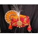 S H A H I T A J Traditional Rajasthani Multi-Colored Silk Bhagwan ki Pagdi Safa or Turban for God's Idol/Kids/Adults (RT315)-ST471_Adults-sm