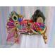 S H A H I T A J Traditional Rajasthani Multi-Colored Silk Krishna Bhagwan Pagdi Safa or Turban for God's Idol/Kids/Adults (RT304)-ST412_Adults-sm