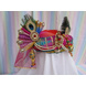 S H A H I T A J Traditional Rajasthani Multi-Colored Silk Krishna Bhagwan Pagdi Safa or Turban for God's Idol/Kids/Adults (RT304)-For Miniature God's Idol (3 inches to 16 inches)-4-sm