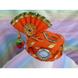 S H A H I T A J Traditional Rajasthani Cotton Orange Kesariya Laddu Gopal Bhagwan ki Pagdi Safa or Turban for God's Idol/Kids/Adults (RT443)-ST579_Adults-sm