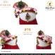 S H A H I T A J Traditional Rajasthani Multi-Colored Krishna Bhagwan Cotton Mewadi Pagdi or Turban for God's Idol/Kids/Adults (MT283)-ST372_Mini-sm