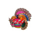 S H A H I T A J Traditional Multi-Colored Silk Krishna or Jagannath Bhagwan Pagdi Safa or Turban for Adults or God's Idol (RT816)-For Teens or Adults (21.5 inches to 23.5 inches)-4-sm