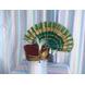 S H A H I T A J Traditional Rajasthani Multi-Colored Silk Ganpati Bhagwan Pagdi Safa or Turban for God's Idol/Kids/Adults (RT819)-ST939_Adults-sm