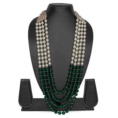 S H A H I T A J Designer Mala/Kanthla for Weddings/Groom Dress or Sherwani (OS849)-ST969