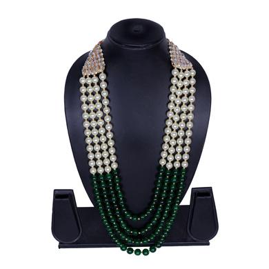 S H A H I T A J Designer Mala/Kanthla for Weddings/Groom Dress or Sherwani (OS849)-1